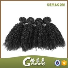 High quality 8a grade 100% virgin human hair extension cheap brazilian remy kinky curly hair