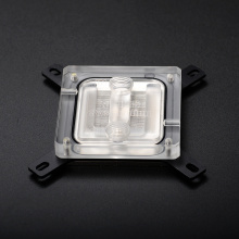 liquid cooling cpu transparent copper water block