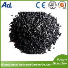 Olor Eliminar productos químicos Granular carbón de bambú