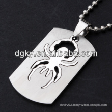 stainless steel spider men cool pendants