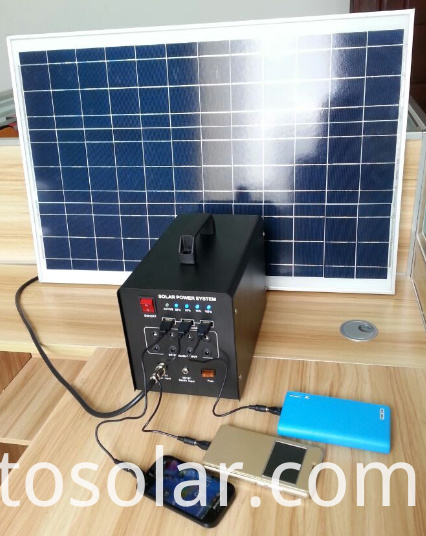 mini solar power generator