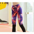 sublimation de leggings colorés Mesdames exécutant collants