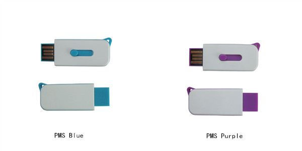 blue usb flash drive