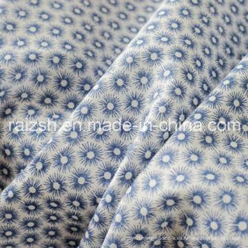 Tela tejedora de algodón de alta densidad de popelina para señoras de moda