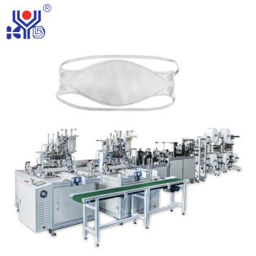 Автоматическая машина для изготовления масок в форме рыбы