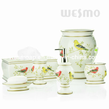 Pure Nature Style Polyresin Bathroom Set (WBP0810A)