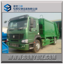 10cbm ~ 15cbm Sinotruk HOWO 4X2 Refuse Compactor Garbage Truck