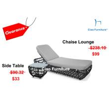 Liquidação de móveis ao ar livre