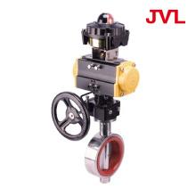 304 manual Pneumatic sanitary butterfly valve
