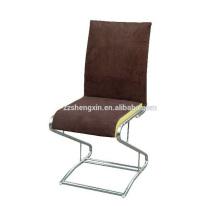 Cadeira de metal do restaurante, cadeira de jantar encosto