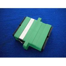 Adaptador de fibra dúplex SC / APC