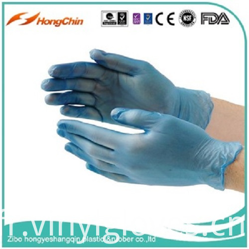 Blue Powder Free Vinyl Glove