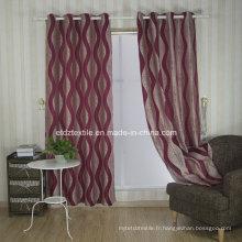 Rideau de tissu de fenêtre à la broderie populaire aux États-Unis