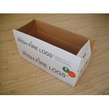 caja acanalada de alta calidad de encargo de la fabricación profesional
