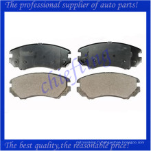 D924 58101-2CA10 181644 pour kia sportage plaquette de frein