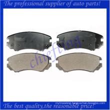 D924 58101-2CA10 181644 for kia sportage brake pad