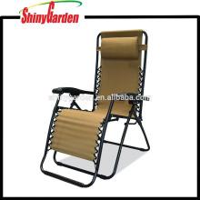 reclinables plegable relax muebles de jardín silla de metal
