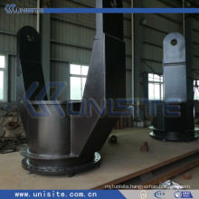 steel double joint for suction pipe system part on TSHD dredger (USC-8-006)