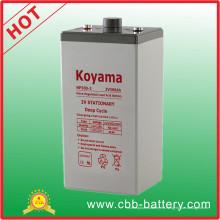 Batería AGA estacionaria de plomo ácido de 2V 300ah