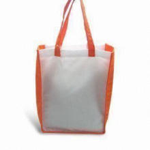 Shopping Bag, Made of Recycle PET Material, Customized Designs Welcomed