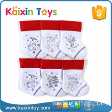 10255320 Multi Design Cheap Funny Drawing Christmas Stocking