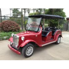 Authentische Magnesiumlegierung 4 Räder Solar Elektro Golfwagen für Hotel / Universität / Park / Garten