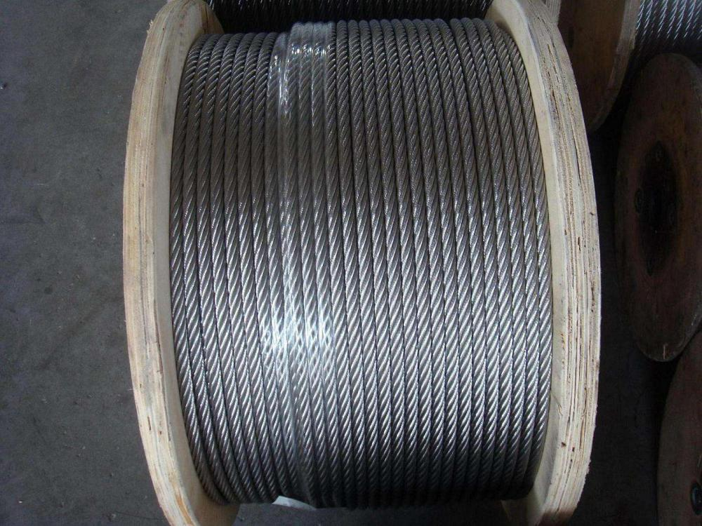 Crane 7X19 Steel Wire Rope