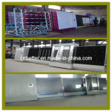 Plate Press Double Glazed Glass Machine/ Vertical PLC Insulating Glass Production Line / Double Glass Production Line (LB1800P)