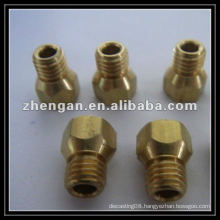 Hex brass screw