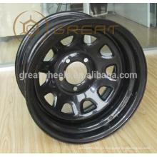 5x114.3 rodas de aço do carro com alta resistência