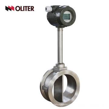 customized digital vortex flow meter for steam measurement with display