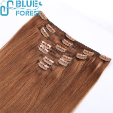 Top Quality No Shedding And No Tangle Cheap Hair Extension Double Drawn Clip In Hair Extension