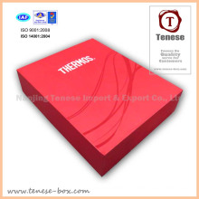 Red Luxury Cardboard Geschenk Verpackung Box für Lebensmittel