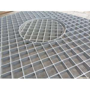 Karbon Galvanized Plug Grating Steel