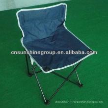 Chaise de camping pliante sécurité