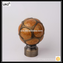 new design resin curtain rods