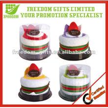 Heißer Verkauf Hochzeit Souvenirs handgemachte Handtuch Kuchen