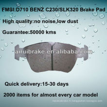 D710 NO NOISE plaquettes de freins à disques de voiture pour BENZ C36 / E300 / SLK230 / SLK320