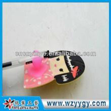 Porta-escovas sanitárias macia do PVC, suporte do toothbrush traceless de alta qualidade