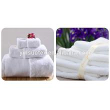2015 toalla de baño fina blanca del hotel de la venta caliente de la alta calidad