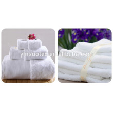 2015 toalha de banho fina branca do hotel da venda quente da alta qualidade