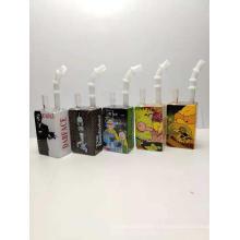 Liquid glass rigs juice Cereal Box oil Rig