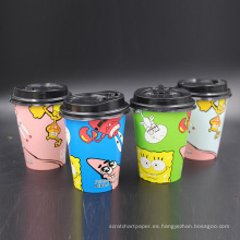 tazas de café desechables de papel de navidad