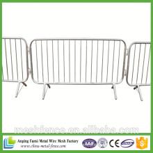 2.1 * 2.1m Hot-Dipped galvanizado multidão controle barreiras
