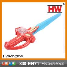 Funny 61CM Пластиковый проблесковый меч игрушка дети меч