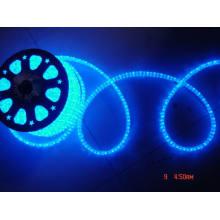LED Seil Licht flach 5 Drähte blau