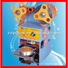 automatic plastic cup sealing machine for bubble tea