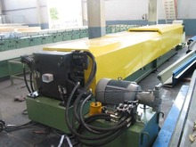 100 galvanized steel round downpipe machine / downspouts machine