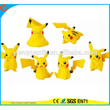 Moda de alta qualidade Moda Pokemon Go Toy popular Ação personalizada 6 Designs Pikachu Doll for Children