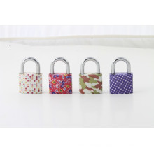 32mm/38mm/50mm/63mmcheap Many Pattern Available Nice Flower Painted Plating Iron Padlock